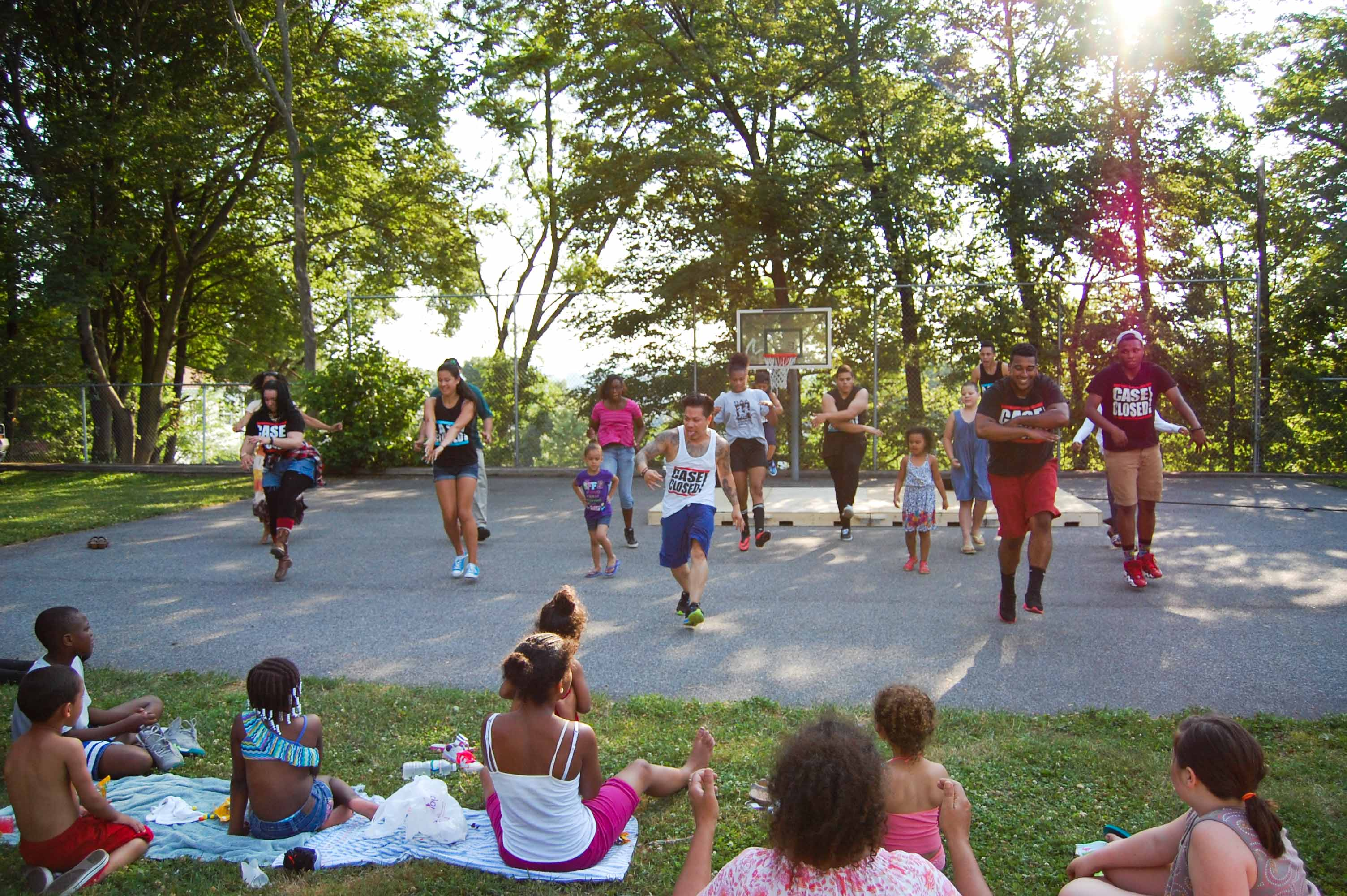 Local dance group Case Closed teaches hip-hop at Billy Taylor Park