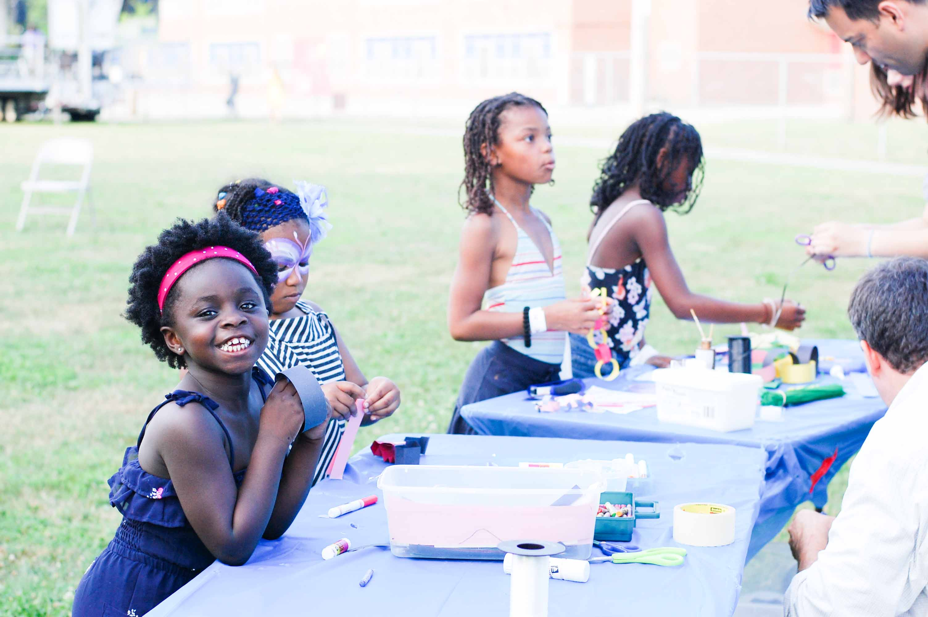 Many NPAI events have arts and crafts for kids