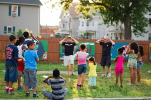 Do-it-yourself acting with the Wilbury Theater Group at Peace & Plenty Park