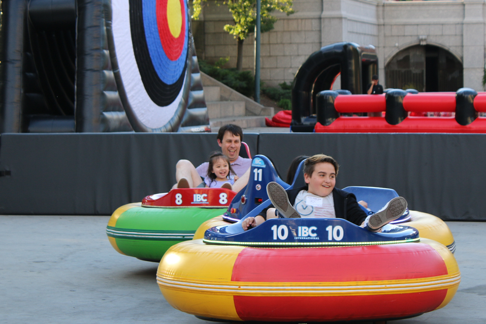 Bumper Cars Fringe Fire And Fountains Art Culture Tourism