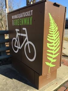 Woonasquatucket River Greenway branding and design by the Woonasquatucket River Watershed Council