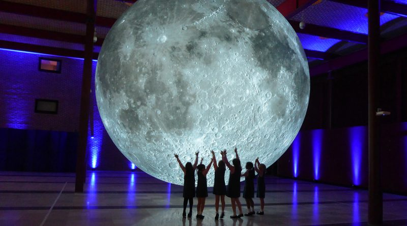 Museum of the Moon by Luke Jerram photo courtesy of WaterFire and the Cork Midsummer Festival UK 2017
