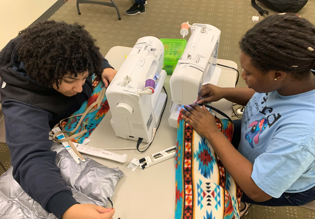 Creative Workforce and Arts Education: TAP Paint Night, Teen Makers Advocate at E3Parents Night and Set up Wanskuck Branch Library Maker Space. Also, Young Maker Workforce Promotions!