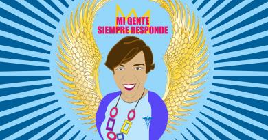 """Mi Gente Siempre Responde"" Public Art Banners Project"
