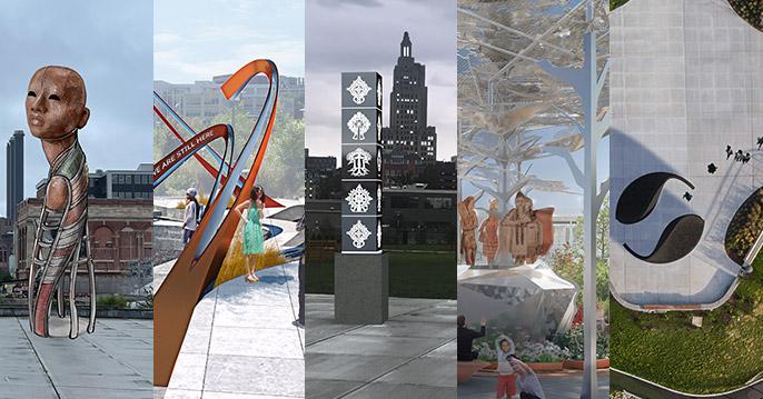 Be a part of Providence's Landmark Public Art Installation